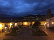 Cuzco by night