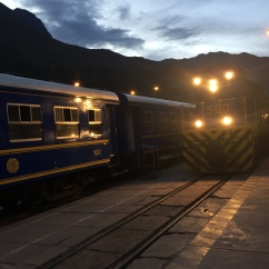 Train direction Aguas Calientes